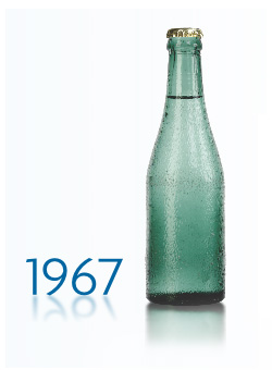 Mihalkovo bottle 1967