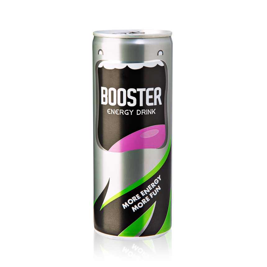 BOOSTER energy drink 860