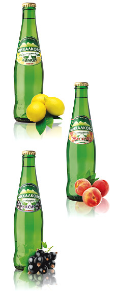 Mihalkovo bottles fruit